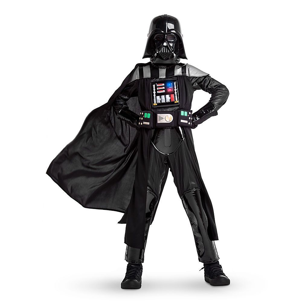 Darth Vader Girls Fancy Dress Star Wars Movie Book Week Day Childs Kids Costume