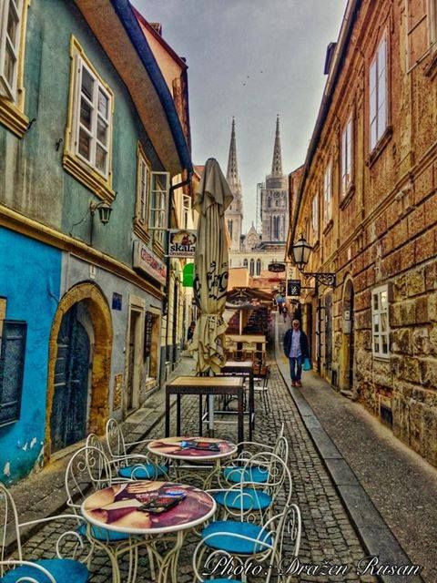 Skalinska Zagreb Zagreb Croatia Zagreb Croatia Travel