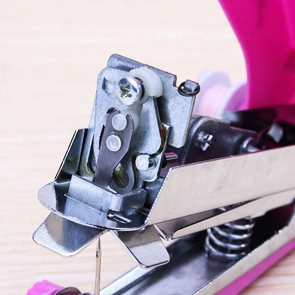 Portable Mini Manual Clothes Sewing Machine Handicraft DIY