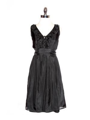 abigail ruffle dress.