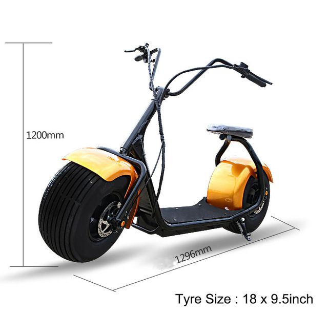 Harley Motos Electricas 1000w Ful High Sd Lithium Battery Citycoco Electric Scoote