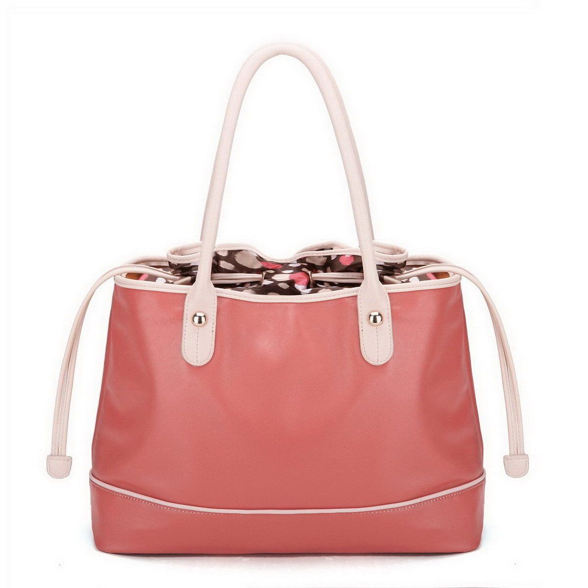 bb0e267894c0f Damentasche Beuteltasche Handtasche Tasche groß Kunst Leder Rosa günstig  kaufen ...