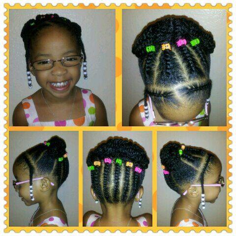 Natural Little Girl Style Black Little Girl Hairstyles Toddler