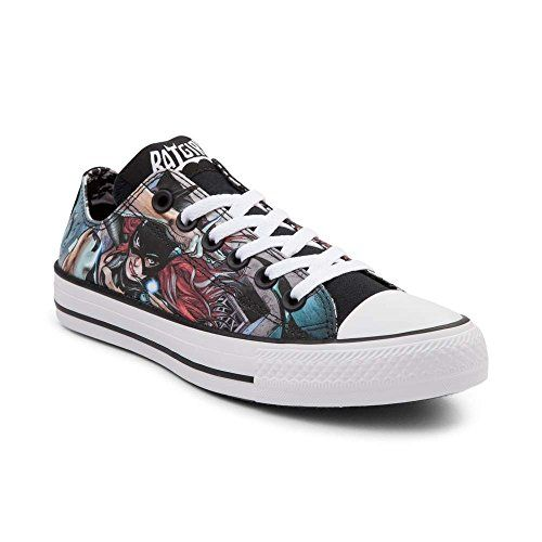 86a182b2347e Super-fy your All Star sneaker game with some Batgirl love! This Converse  All Star Lo Top Batgirl Sneaker features a smooth satin upper with allover  print ...