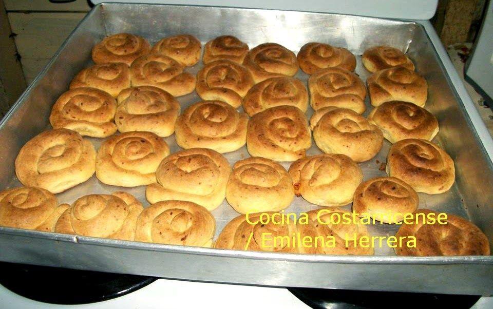 Cocina costarricense pan salado casero comida tica