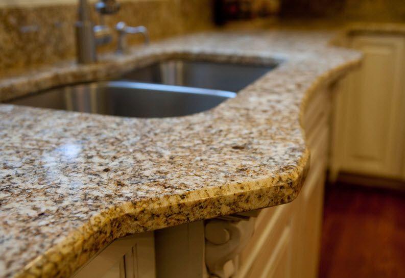 1 4 Bevel Edge Granite Countertop Edges Granite Edges Traditional Countertop