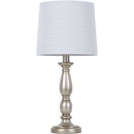 Better homes and gardens antique silver turned resin table lamp better homes and gardens antique silver turned resin table lamp walmart aloadofball Images