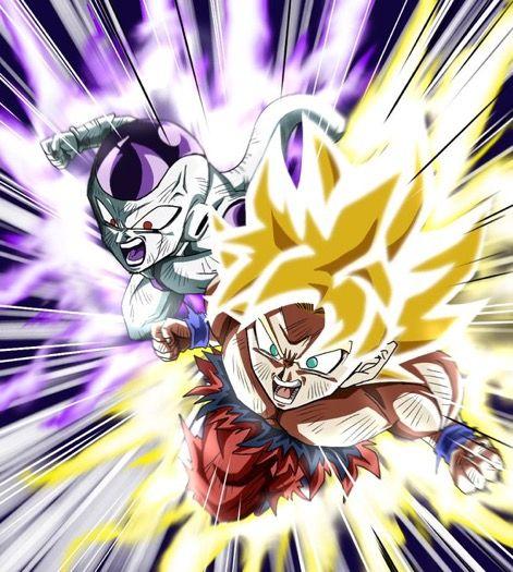 Pin De Kevin Pupiales En Dragon Ball Goku Y Freezer Personajes De Dragon Ball Dragones