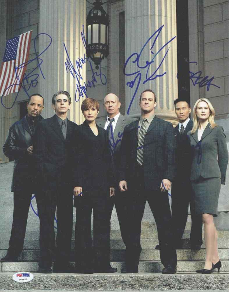 Description Law Order Svu Cast Autographed Signed 11x14 Photo Certified Authentic Psa Dna A Very Uncommon Item Signed Law And Order Svu It Cast Law And Order