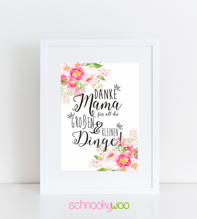 Photo of MOTHER'S DAY – Art – Mother's Day – Handmade with love in hat …