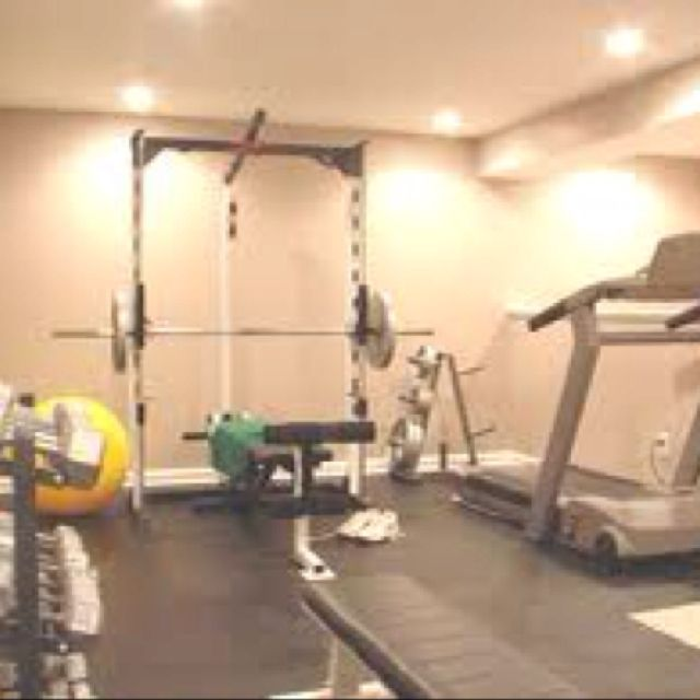 Home Gym Design, Basement Design
