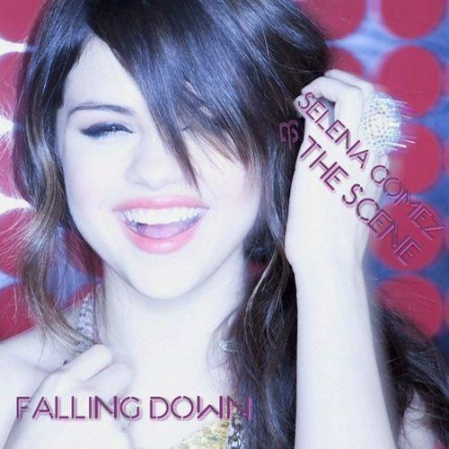 Selena Gomez Fan Art Falling Down Fanmade Single Cover Selena Gomez Kiss Selena Gomez Selena Gomez Album