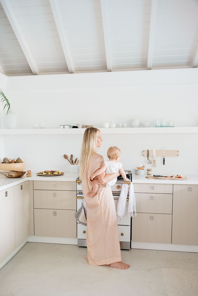 Kate Holstein | Beach house kitchens, Weekend house and Beach bungalows