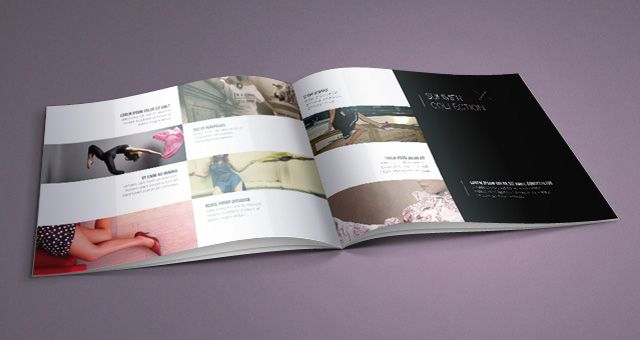 Fashion Catalog Template 03 | \Portfolio// | Pinterest
