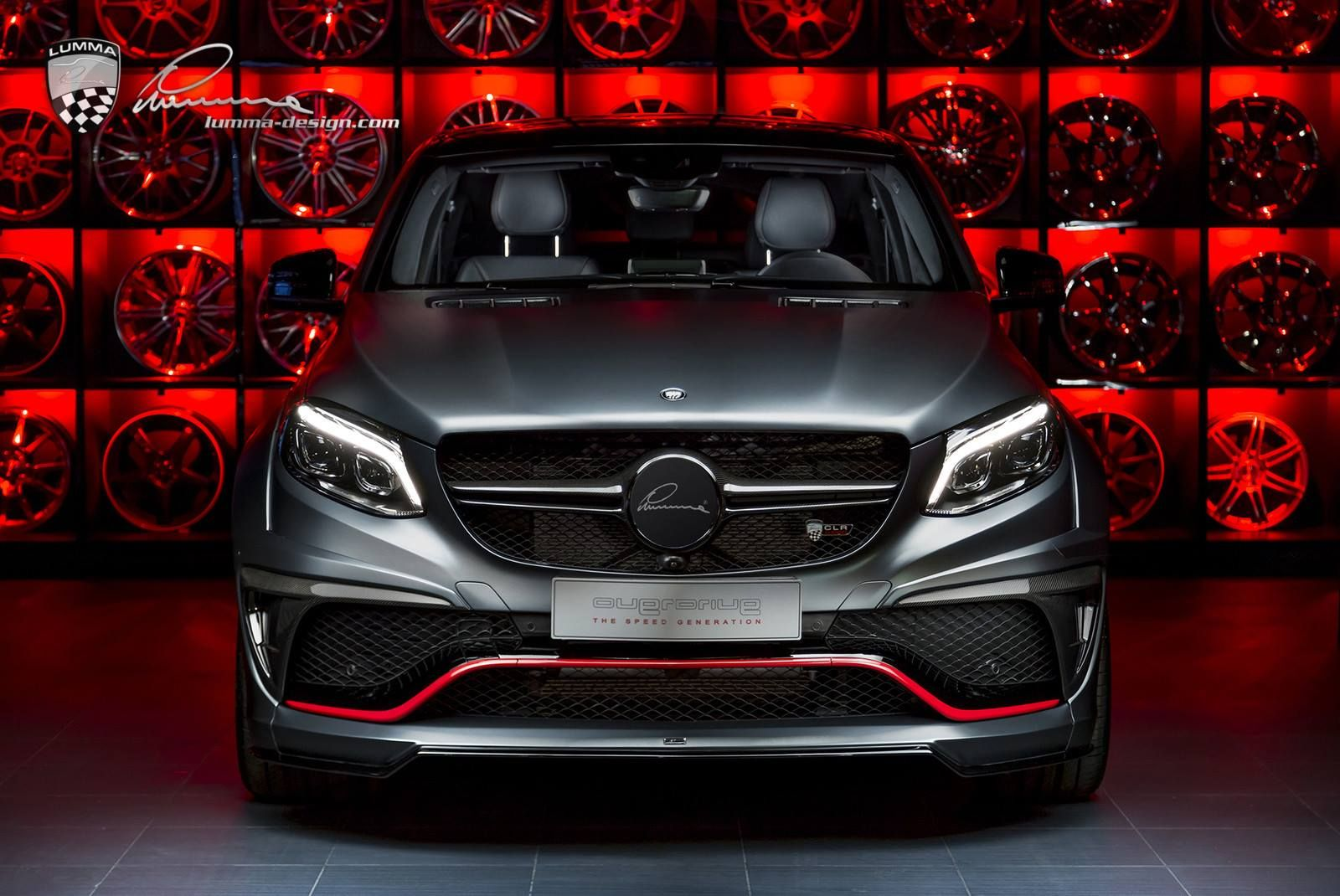 Lumma S Clr G800 Is A Mercedes Benz Gle Coupe On Steroids