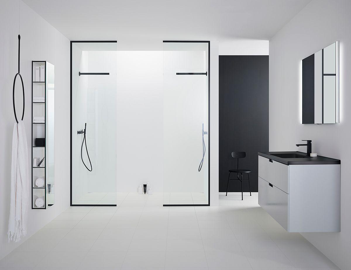 Badrumsdesign som ramar in - Svart duschvägg frÃ¥n INR   Badrum ... : dusch vägg : Inredning