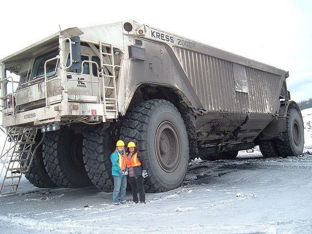 Largest mining truck