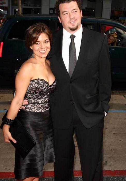 Danny McBride with his wife Gia - 41.6KB