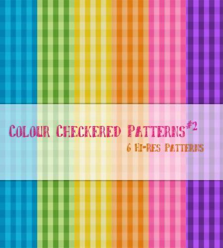 باترن فوتوشوب مربعات ملونة مميز تحميل مباشر Color Checker Scrapbook Materials Color