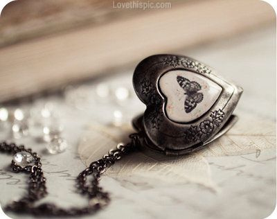 Butterfly heart locket jewelry vintage butterfly heart necklace