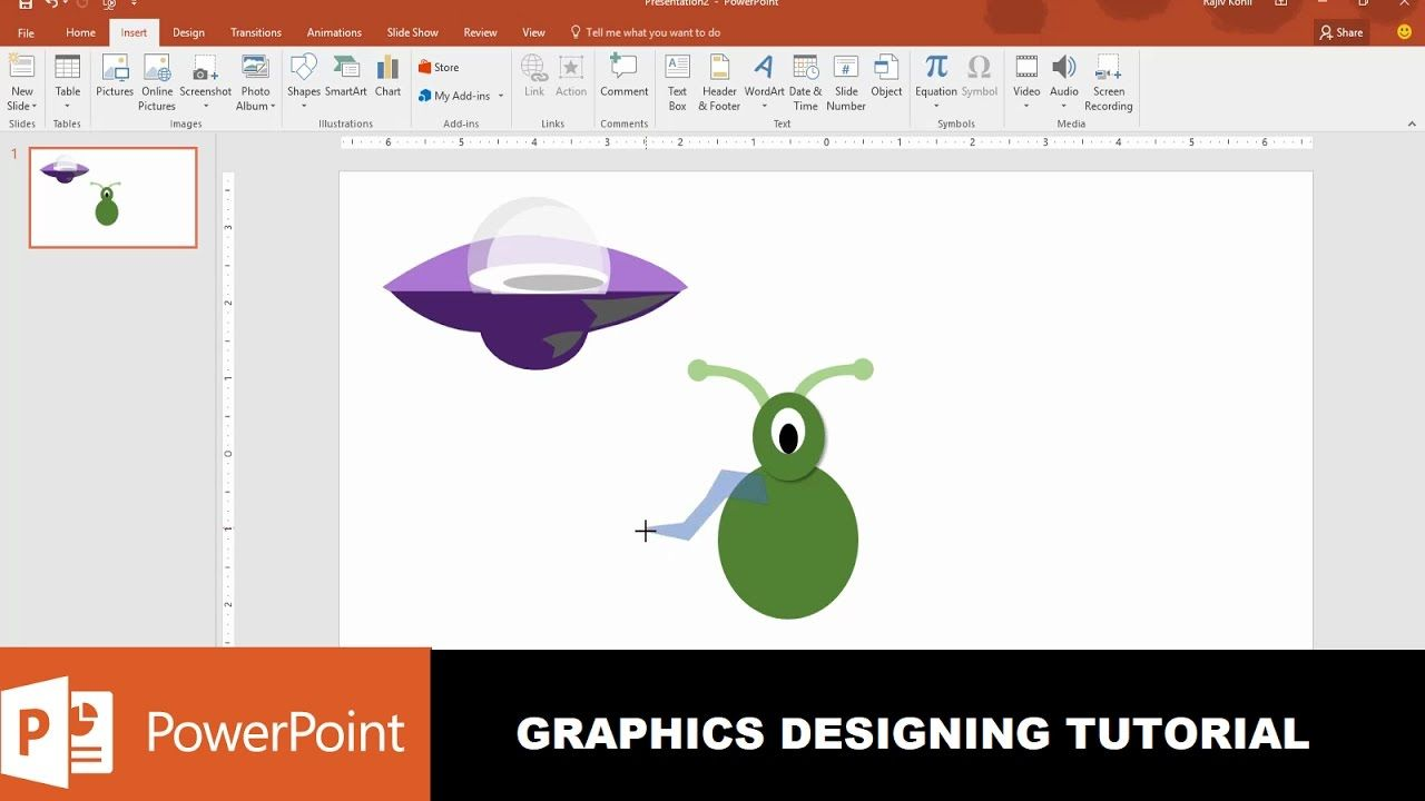Ufo and alien character graphics design in powerpoint 2016 microsoft powerpoint buycottarizona