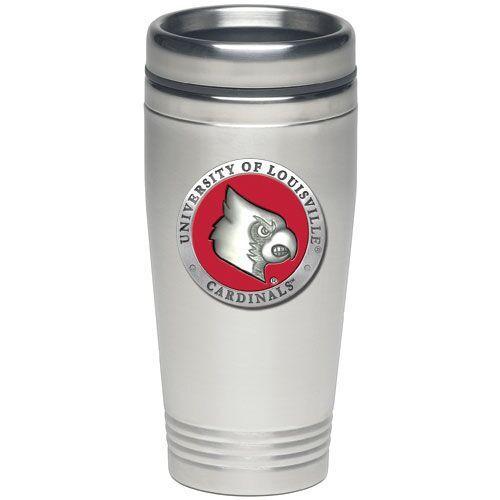 Louisville Cardinals Thermal Mug