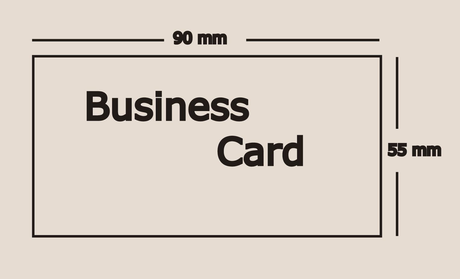 Tips To Chose Business Card Dimension