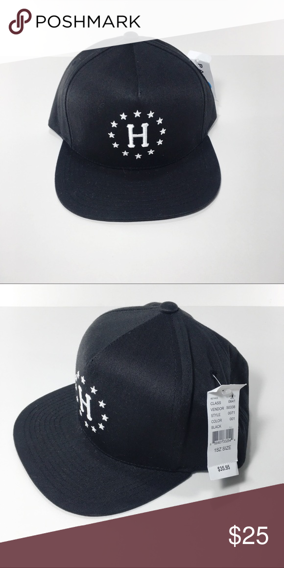 db9676b2 HUF Snapback Hat Amazing Custom made Hat. 60% Cotton / 40% Polyester HUF  Accessories Hats