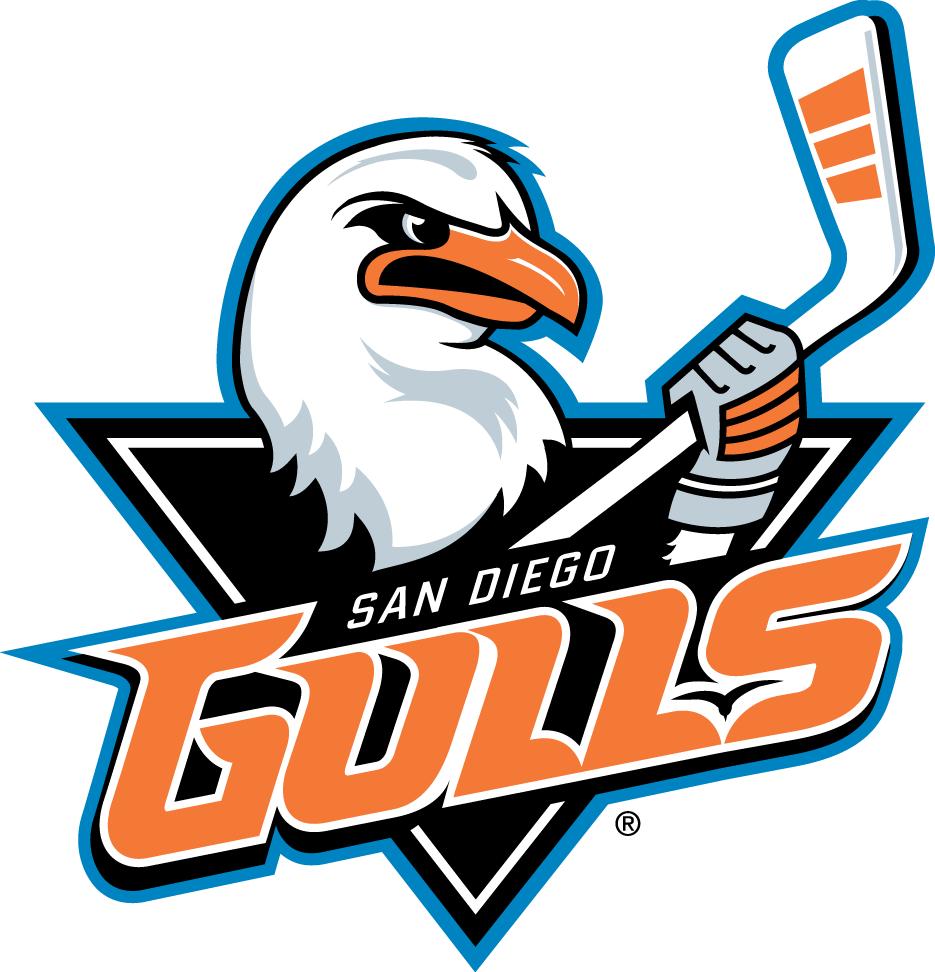 San Diego Gulls Primary Logo American Hockey League Ahl Chris