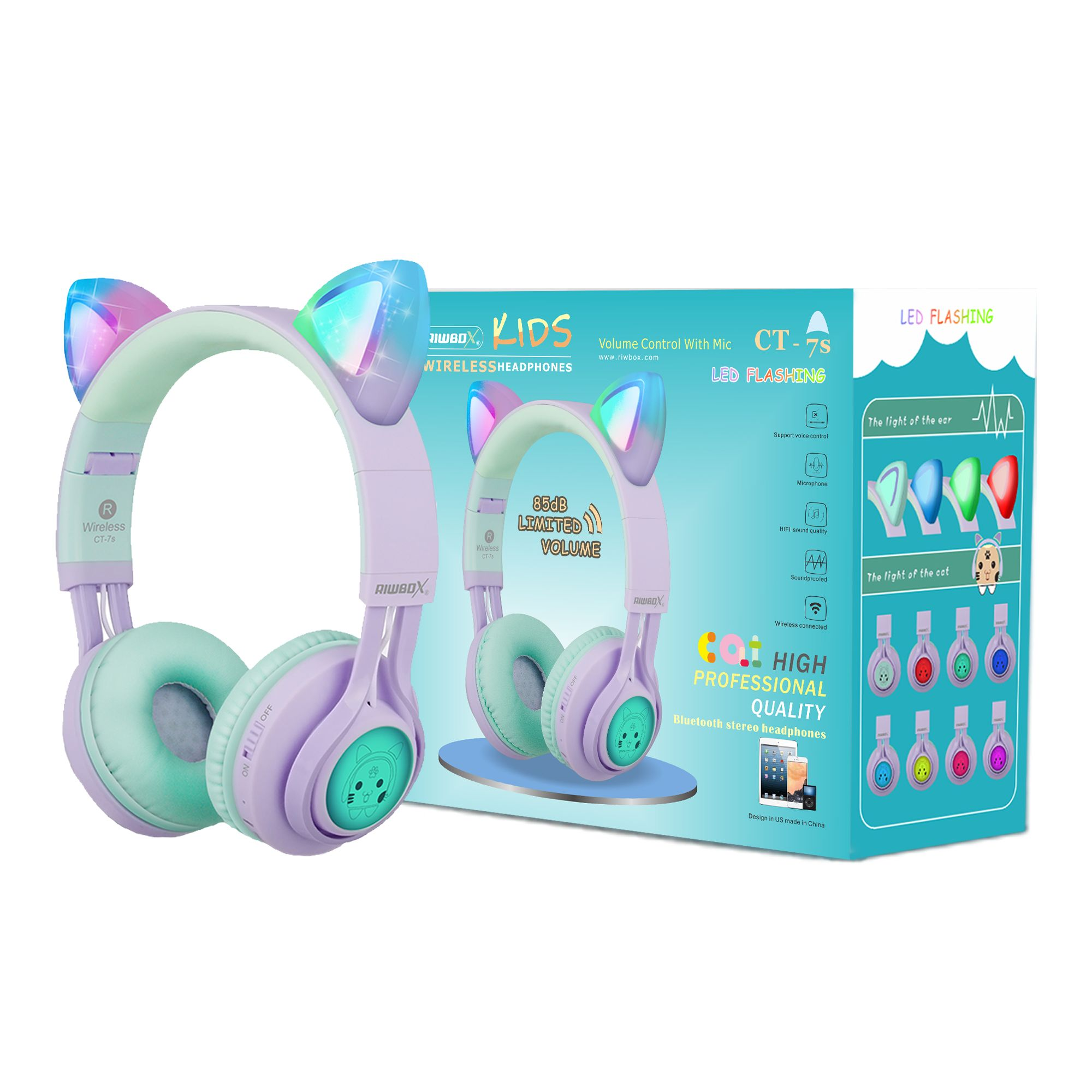 Pin On Kids Headphones 2019