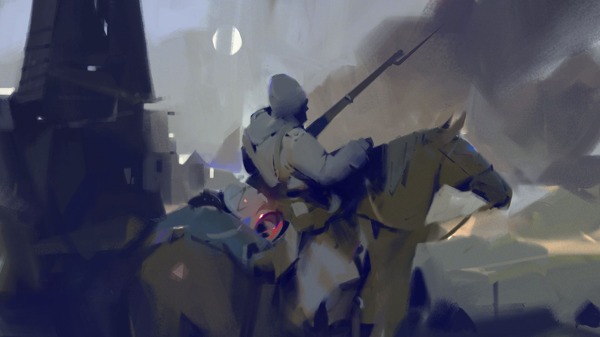 ArtStation - Cavalry, Halil Ural