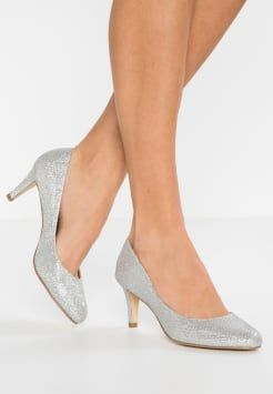 pretty nice 17566 81a7f Buffalo - Pumps - glitter silver | shoes and bags | Silberne ...