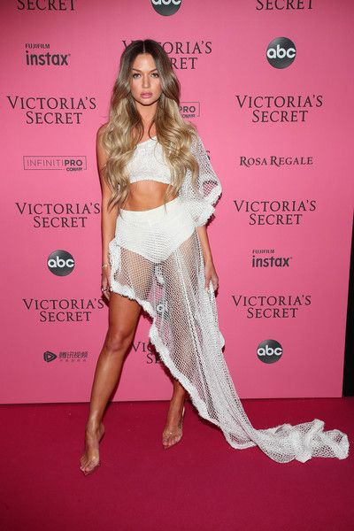 23fdf64f355 Erika Costell attends the 2018 Victoria s Secret Fashion Show After Party on  November 8