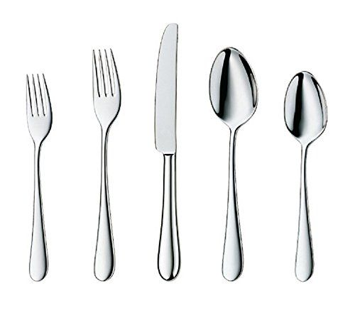 HornTide Flatware Sets Dinner Knife Fork Spoon Pack of 20-Piece Service for 4 Person  sc 1 st  Pinterest & HornTide Flatware Sets Dinner Knife Fork Spoon Pack of 20-Piece ...