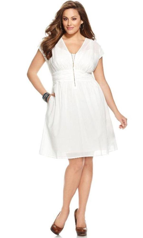 Plus Size Zip Front Dress What To Wear Pinterest Zip Front