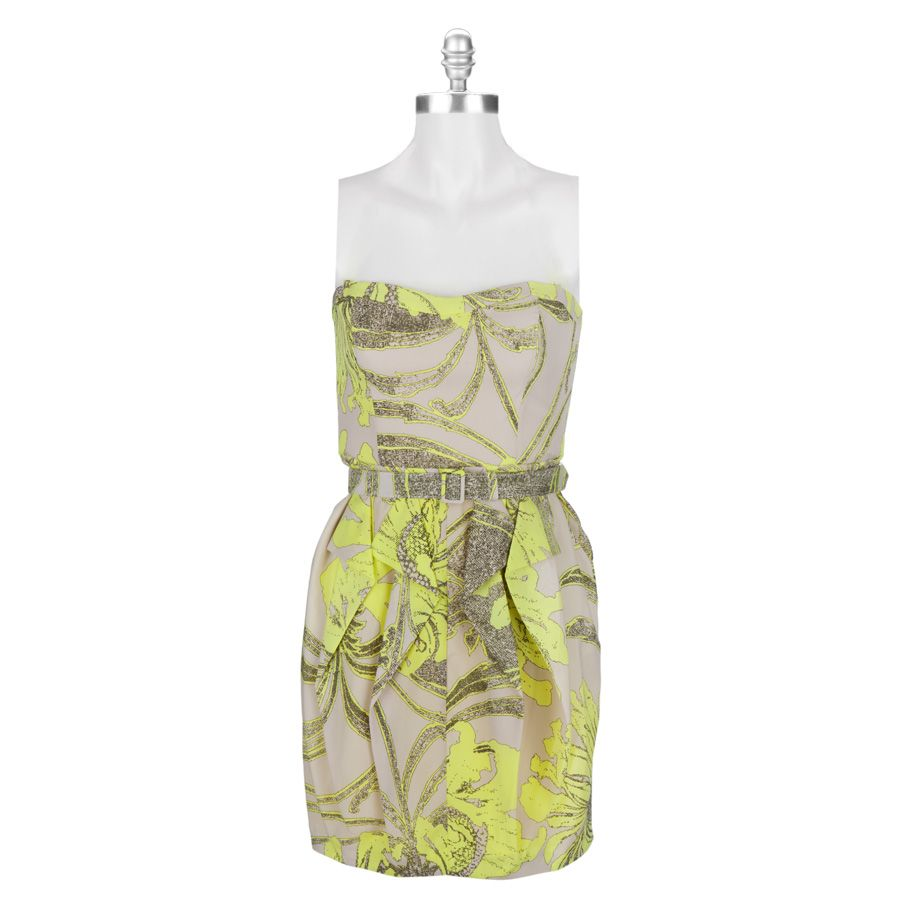 Jessica Simpson Paris Metro Strapless Dress Dresses Jessica Simpson Envy Clothing [ 900 x 900 Pixel ]