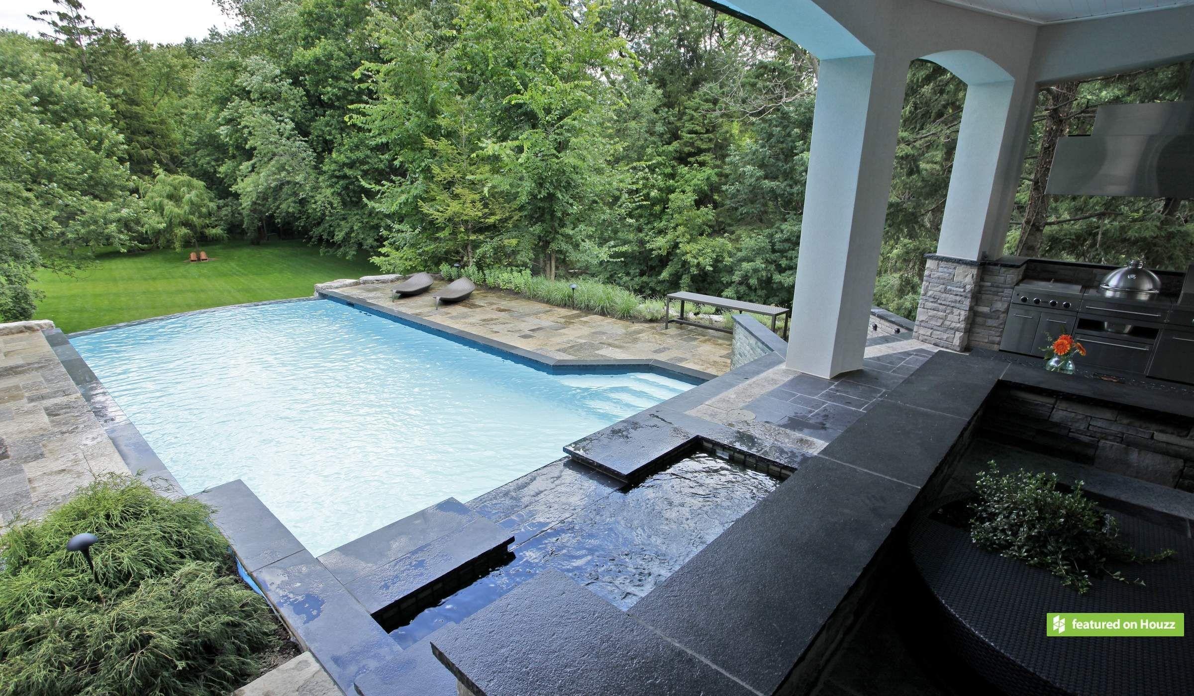 Infinity Zero Edge Betz Pools Pool, Concrete pool