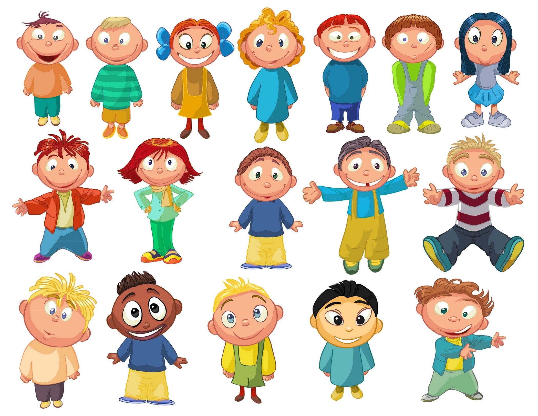 Картинки детишек в векторе