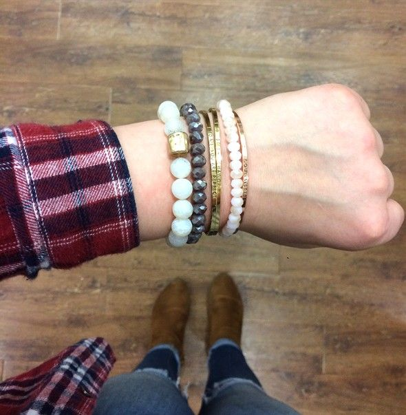 Of all the stacks in the world we can't choose just one!✨ #xoxoAL4You #stackable #bracelets #aotd #shoplocal #accessories #apricotlane http://form.jotform.us/form/52044697810154