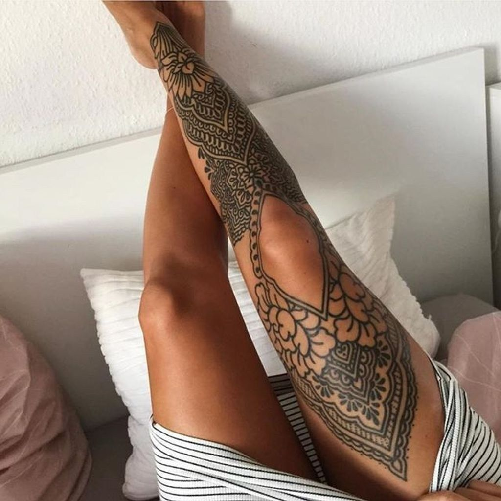 Photo of Tattoos – Leg Tattoos – Leg Tattoos Frauen – Knie Tattoo – Muster Tattoo – polynesische Tätowierung