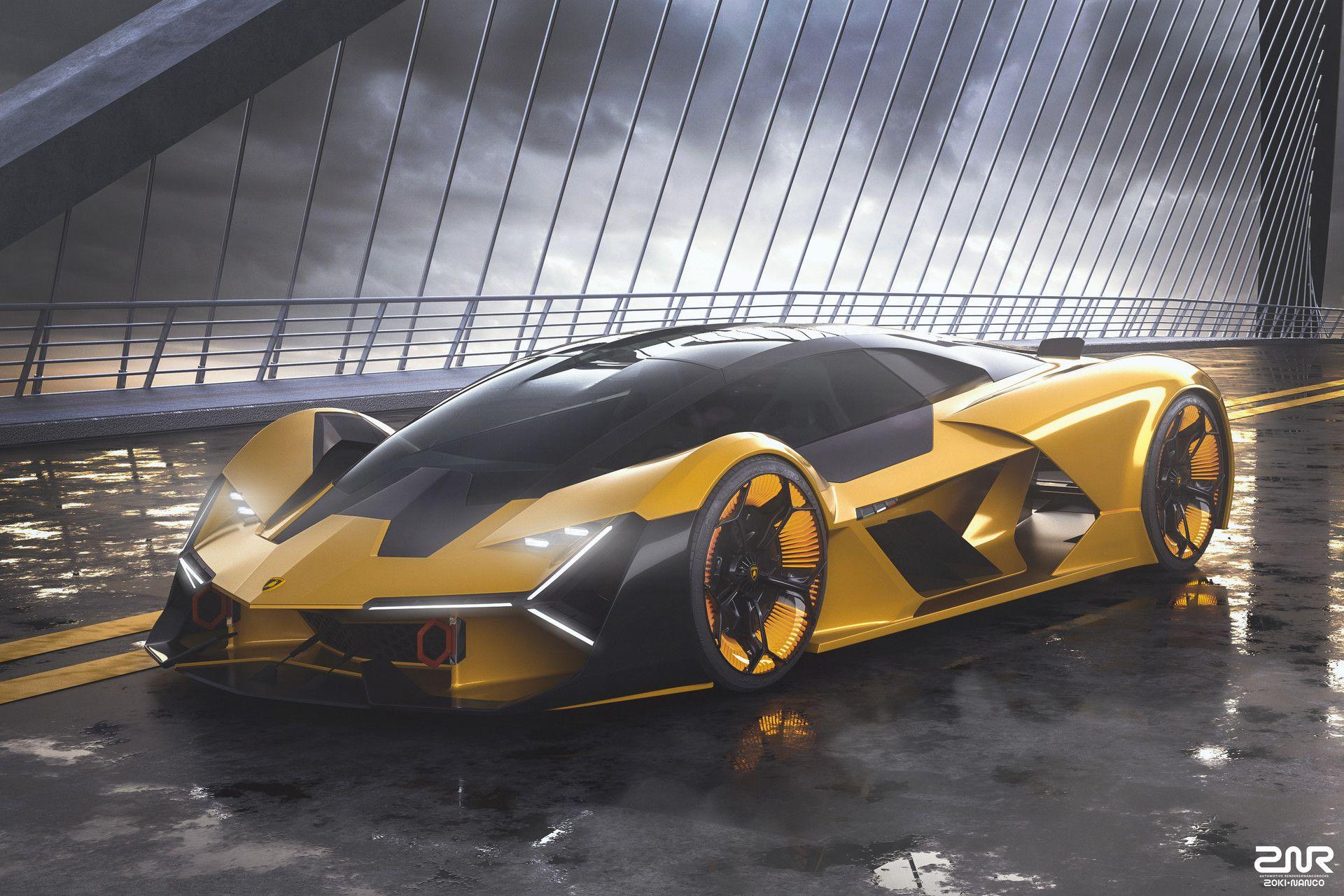 Artstation Lamborghini Terzo Millennio Zoki Nanco Nancorocks