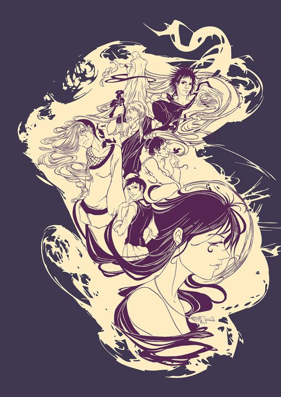 T-shirt Design of the Endless from the Sandman by yienyipfan