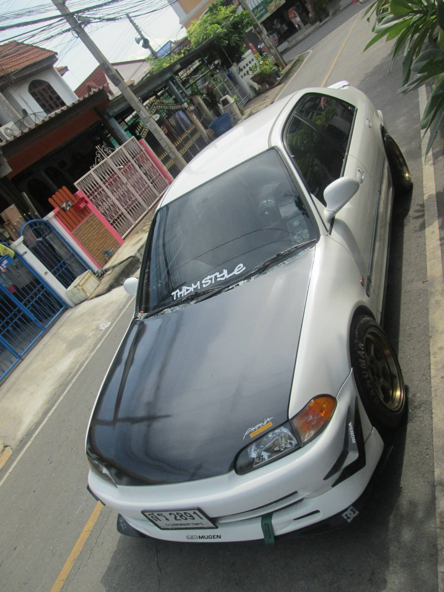 Now cabon is sticker honda civic sticker decals stickers