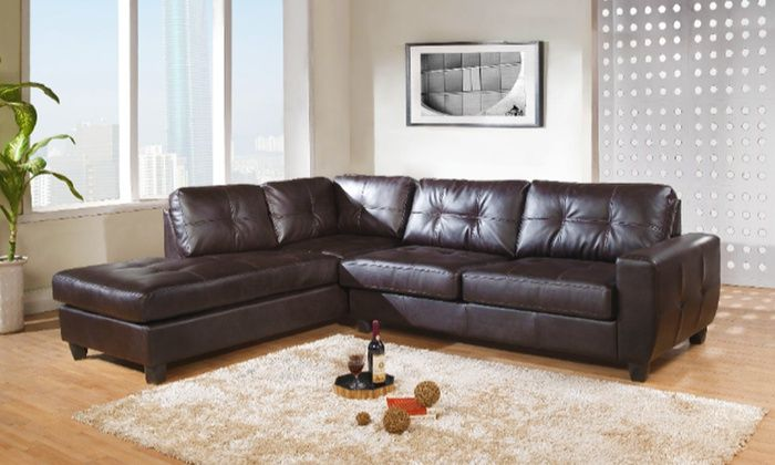 Athens Leather Corner Sofa In Black Or Brown For 499 With Free Delivery 50 Off Leather Corner Sofa Corner Sofa Home Decor