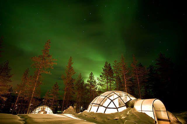 Igloo Hotel Northern Lights >> Finland Northern Lights Igloo Extreme Hotels Northern Lights