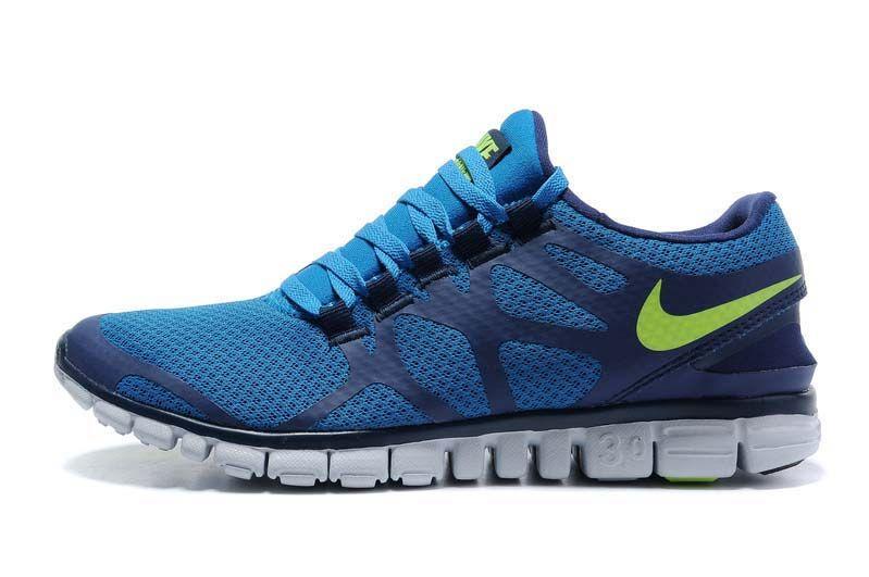 78f280121ba76 Nike Free 3.0 V3 Blue Green White