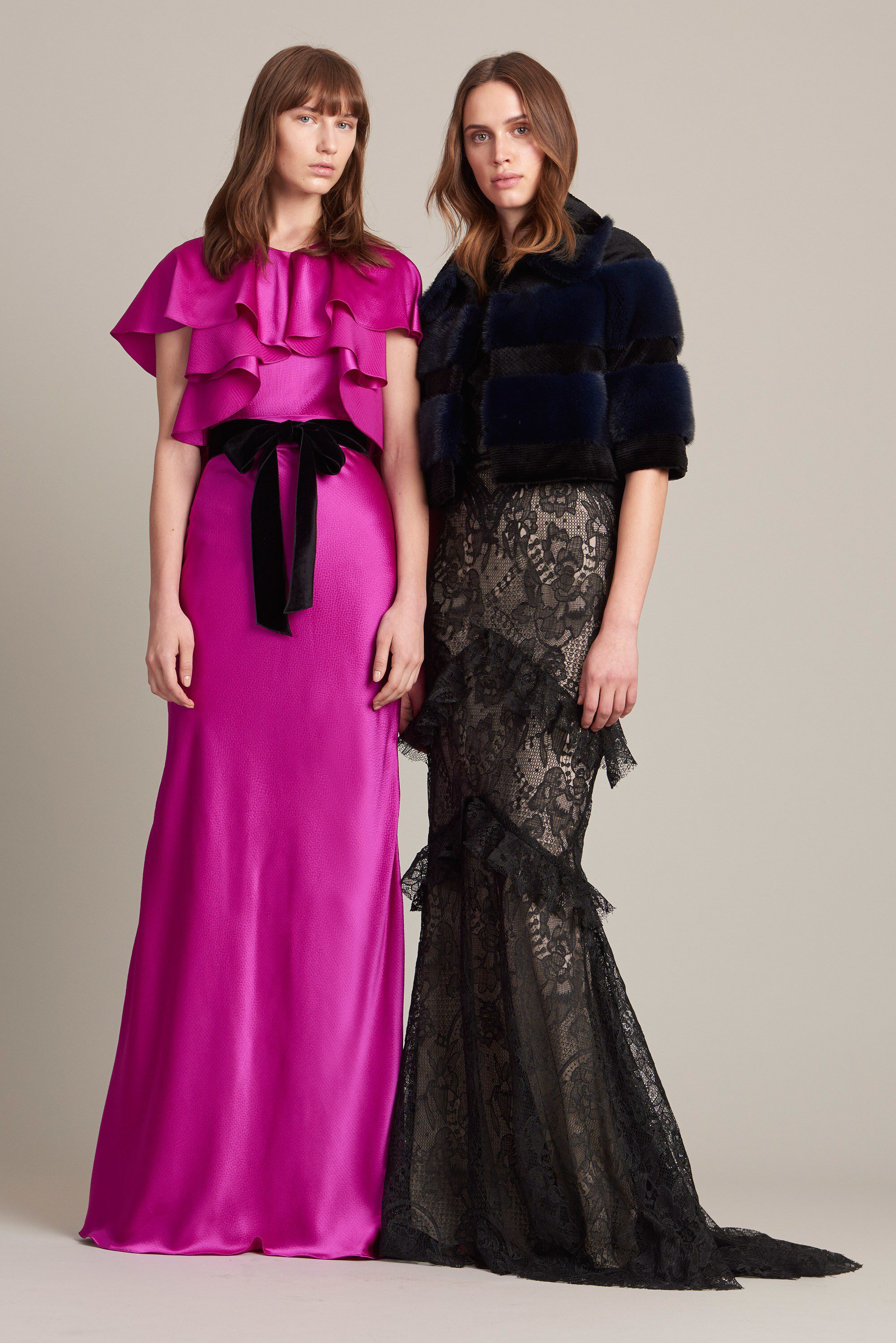 Monique Lhuillier Pre-Fall 2017 Fashion Show | Coser y Vestiditos