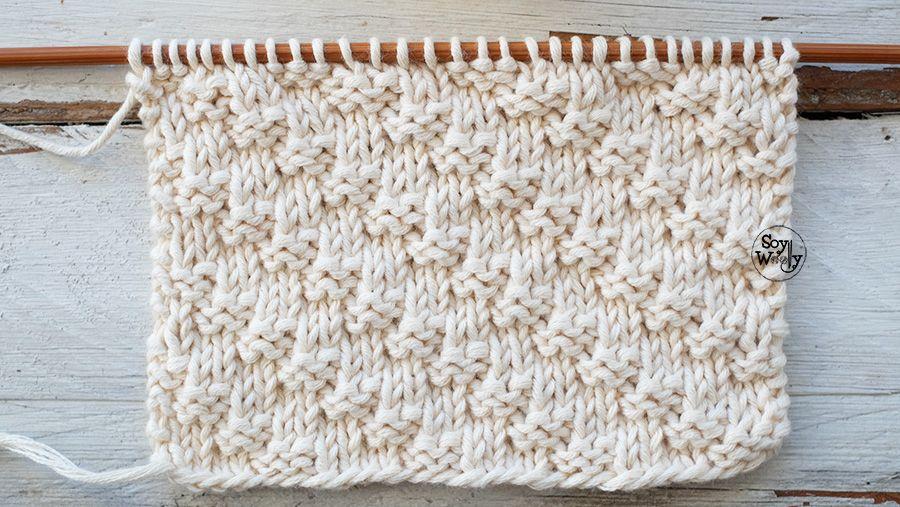 Punto Diagonal: para tejer bufandas-cuellos en dos agujas | Dos ...