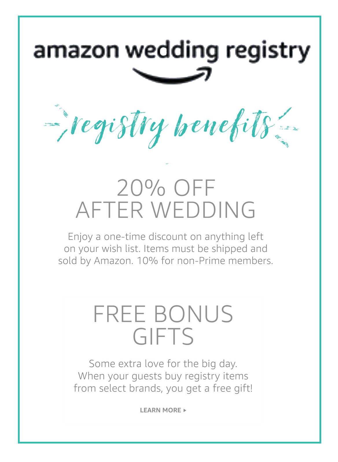 Amazon Wedding Registry Wedding Registry Deals Best Wedding Registry Wedding Registry Idea W In 2020 Amazon Wedding Registry Wedding Registry Best Wedding Registry