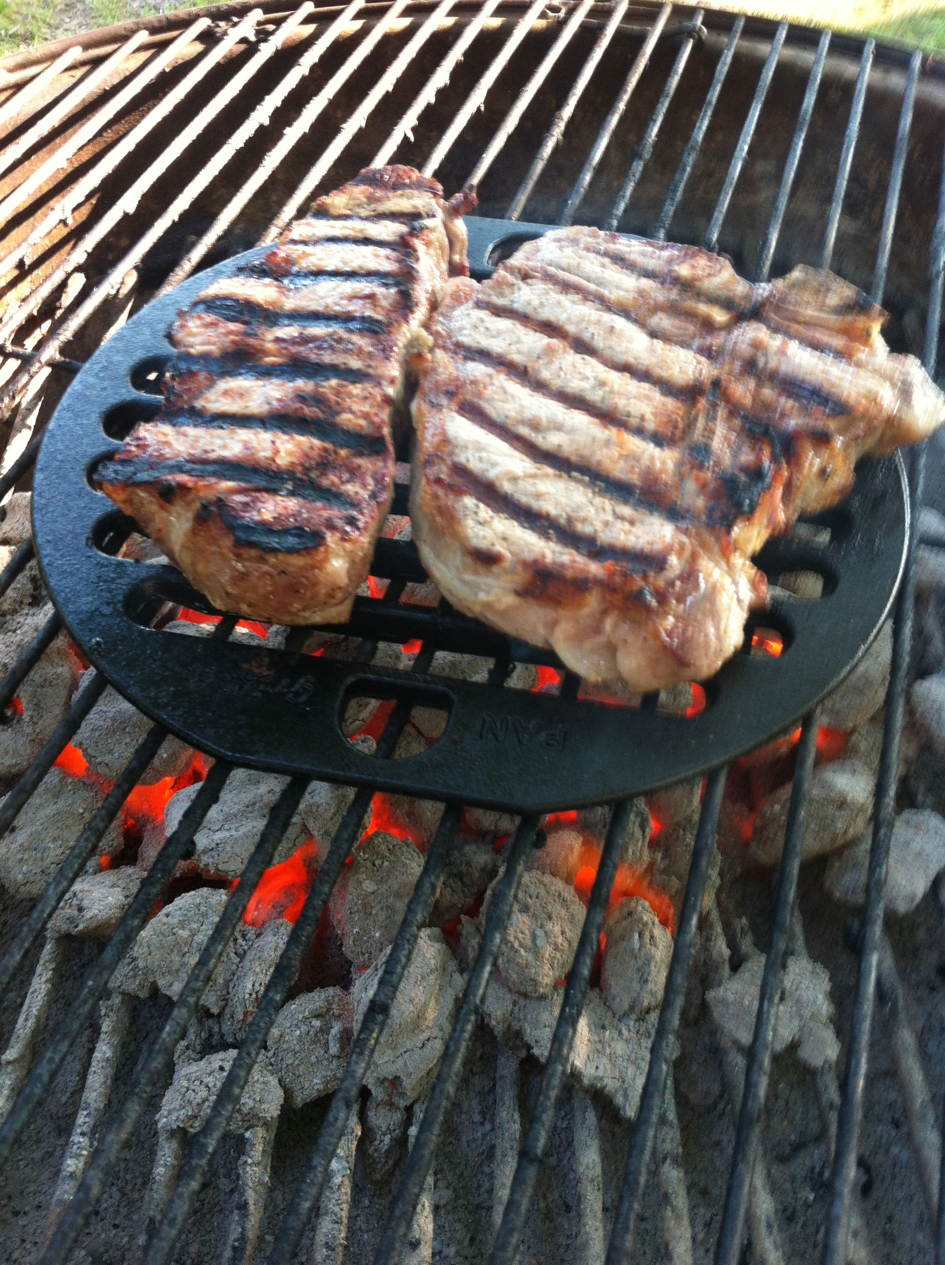 Not My Flavor But Better Than Grilling On Wire Rusted Grill Grates Dangers Of Aluminum Wiring Or Using Harmful Foil